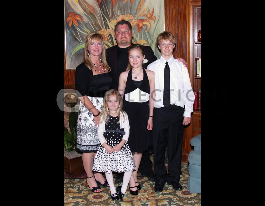 Wedding Guest Family Portrait