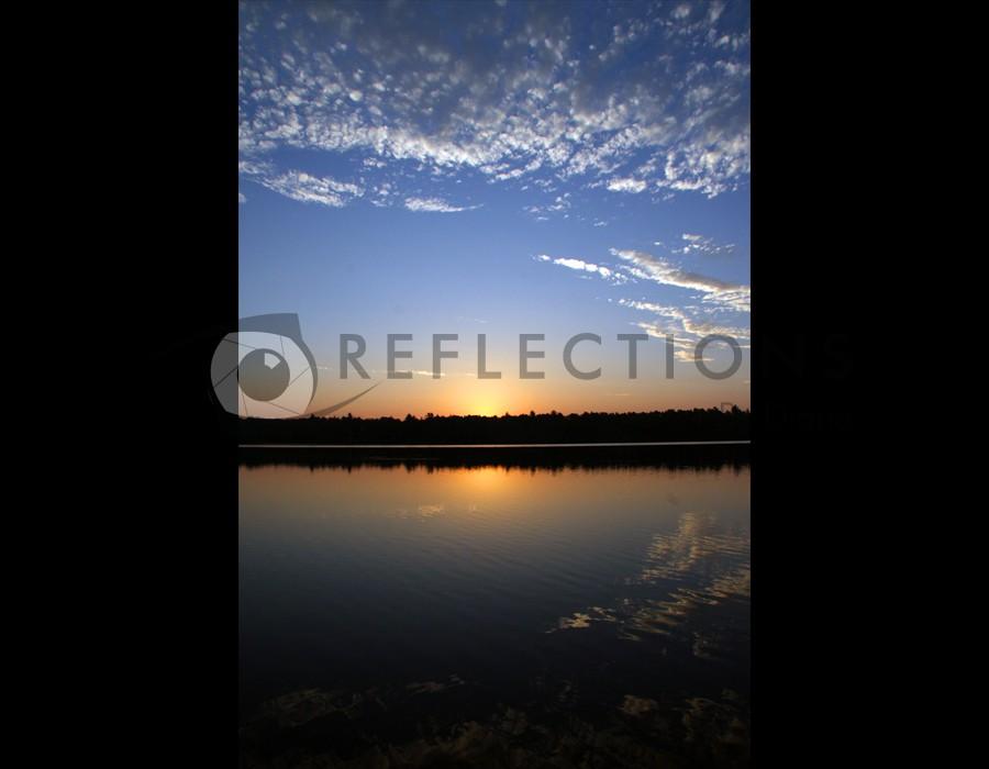 Antler Lake Sunrise, Big Fork, MN