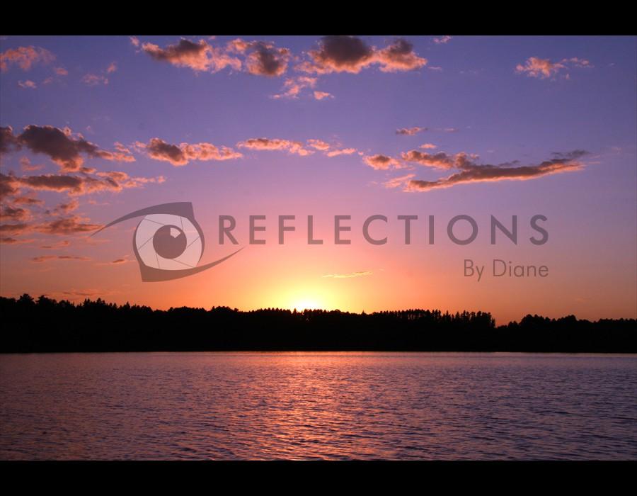 Antler Lake Sunset, Big Fork, MN
