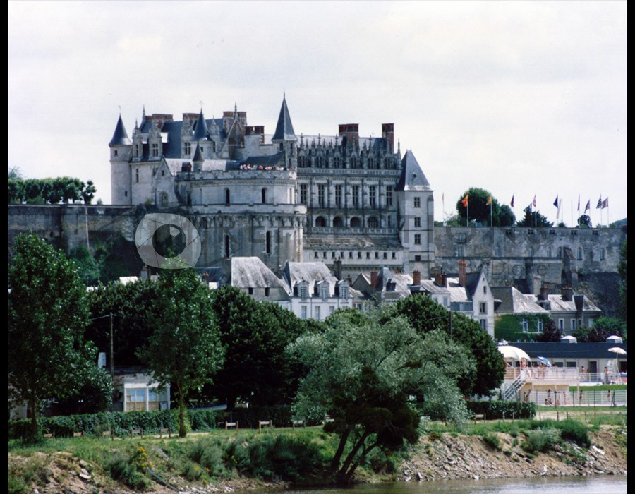 Cheateau in the Loire Valley, France