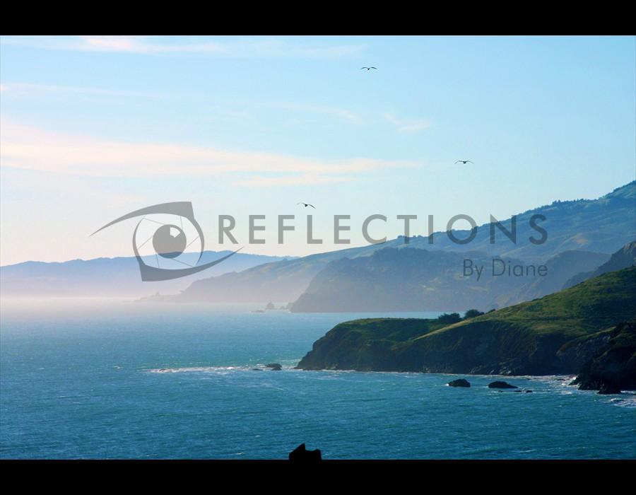 Marin Coastline North of Golden Gate Bridge