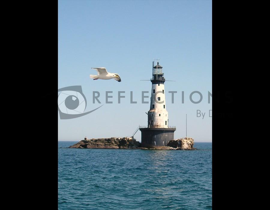 Rock of Ages Lighthouse, Isle Royale, MI