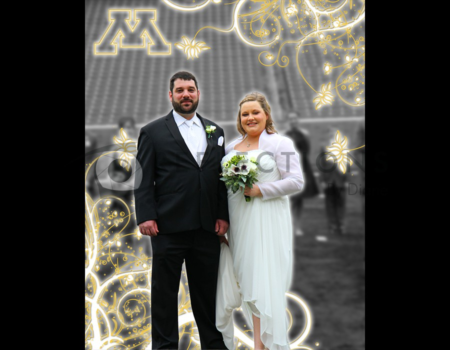 TCF U of M Stadium Wedding
